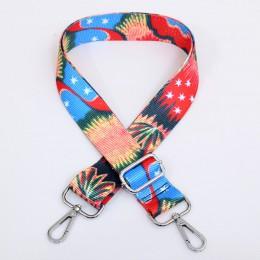 140 cm O torba rama do torebki pasek dla kobiet wymienny DIY ramię Rainbow akcesoria torebkowe crossbody Messenger nylonowe pask