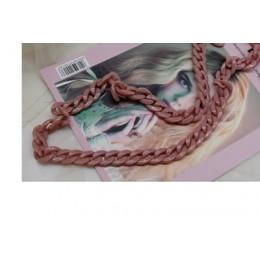 Zaktualizuj nowe kolory kobiety akrylowy pasek do torby na ramię elegancki jednolity kolor lub Mix kolorów w 1.5cm * 2cm Messeng