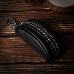 EISIPURI marka skórzana obudowa kluczyka do samochodu portfel moda skóra bydlęca marka uchwyt na kluczyk samochodowy, hurtownia