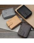Baellerry męskie etui na karty kredytowe Concertine Fold wysuwana konstrukcja wysokiej jakości PU Leather męskie etui na identyf