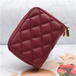 WESTERN AUSPICIOUS PU Leather Women wizytownik na karty biznesowe portfel etui na karty kredytowe etui na identyfikator kobiety