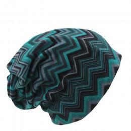 Miaoxi gorący bubel 8 kolorów w stylu vintage, w paski kobiety ciepłe czapka moda z najwyższej półki Lay Casual czapka zimowa cz