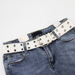 Modne paski parciane damskie męskie unisex szerokie do spodni spódniczki sukienki płaszcza oryginalne długie