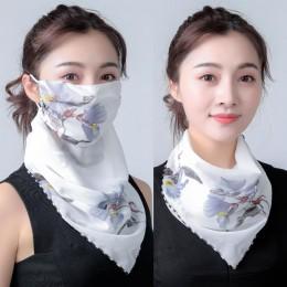 2020 Hot sprzedam usta maska lekka maska szalik słońce maska ochronna jazda na zewnątrz maski ochronne jedwabny szalik chusteczk