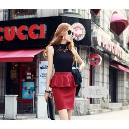 Nowe damskie lato jesień bez rękawów solidny kolor koszule i koszulki bawełniane tanki topy damskie bluzki koszule Lady Vest 10