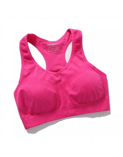 Topy typu tuba moda piękny tył Running Fitness sportowy odświeżający owinięty w klatkę piersiową bielizna Hive amortyzujący spor