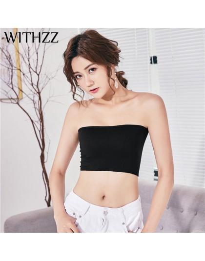 """Zzz kobiet bez ramiączek czarny biały Camisole kobiet zakrętka tubki owinięty piersi link """" pokaż portfolio produktów """"znajdą pa"""