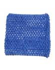 3 sztuk 6 cal Crochet top bez rękawów dla Pettiskirt Tutu Boutique topy typu tuba elastyczna skrzynia owinięte akcesoria odzieżo
