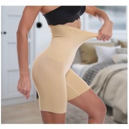 Jednolite ciało Shaper Slim Shapewear majtki majtki modelujące brzuch kobiety treningowy do wyszczuplania talii wysokiej talii b