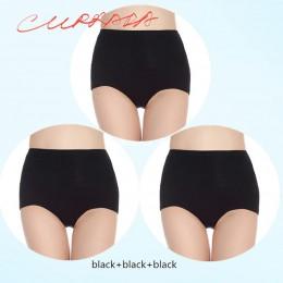 3 części/partia kobiet majtki wysokiej modelowanie talii brzuch odchudzanie Shapewear kobiet po porodzie odzyskiwanie kontrola b