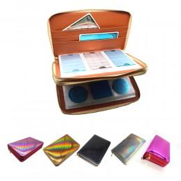 216 sloty płytka do stemplowania paznokci uchwyt Rainbow Laser Design okrągły kwadrat prostokątny Manicure Nail tabliczka dekora