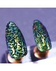 SHOPANTS 6*12cm nowy prostokąt ze stali nierdzewnej do paznokci płytka do stemplowania wzór skóry węża pieczątki obrazki zdobien