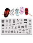 Mybormula rosyjskie litery projekt prostokąt szablon tłoczenia 12*5.8cm Manicure Nail Art płyta z pieczątkami 2019