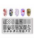 Urodzony PRETTY pieczątka na paznokcie tłoczenie płytki kwiat zwierząt ze stali nierdzewnej Xmas paznokci znaczki szablon DIY ma