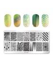 PICT You płytki do tłoczenia paznokci French Tip zdjęcia szablon do stemplowania paznokci projekt paznokci ze stali nierdzewnej