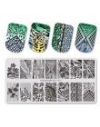 BeautyBigBang 6*12cm motyw świąteczny Nail Art Snow Series prostokąt żel do paznokci płytka do stemplowania letnia kolekcja do M