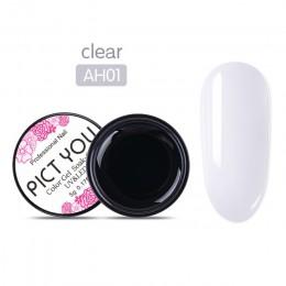 1 Box PICT YOU Clear przedłużenie paznokci żel półprzezroczysty żel UV do budowania UV LED DIY przedłużanie paznokci