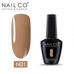 NAILCO Nude Series New Arrival Primer żel lakier Soak Off UV żelowy lakier do paznokci led Gellak Lucky żelowy lakier do paznokc