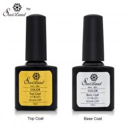 Saviland Primer podkład gumowy warstwa wierzchnia płaszcz podstawowy żelowy lakier do paznokci bez wycierania lakier żelowy UV n