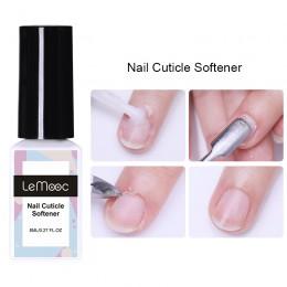 LEMOOC 8ml do skórek paznokci zmiękczacz lakier do paznokci martwy naskórek Remover pielęgnacja paznokci wygładzający kolczasty