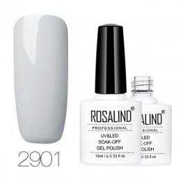 ROSALIND żel 1S 10ML seria kolorowa lakier do paznokci półtrwały do lampy led uv lakier do paznokci do paznokci Soak-off lakier