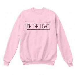 BE THE LIGHT bluzy damskie z długim rękawem topy swetry ubrania kobieta jesień zima bluzy