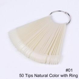 STZ 50/32/24 porady/zestaw fałszywe paznokcie wyświetlacz wentylatora akrylowe fałszywe tipsy na żel polski praktyka narzędzia a