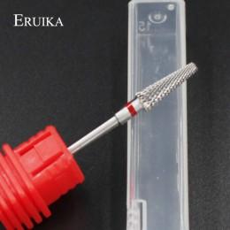 ERUIKA 13 typ ceramiczne wiertło do paznokci Manicure akcesoria do maszyn obrotowe elektryczne pilniki do paznokci Manicure Cutt