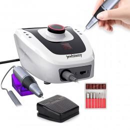 35000/20000 RPM Pro elektryczna wiertła do paznokci aparatura do Manicure Pedicure z nożem wiertarka do paznokci Art zestaw masz