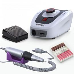 Elektryczna wiertła do paznokci 32W 35000RPM Nail Art sprzęt maszyna do Manicure akcesoria elektryczny pilnik do paznokci wiertł