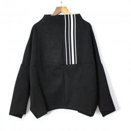 [XITAO] europa moda nowy 2019 wiosna kobiety golf pełna rękaw luźny top kobiet swetry mecz wszystko bluza ZLL3289
