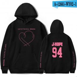 JIMIN J-HOPE JUNG KOOK SUGA nowy album mapa duszy Persona bluzy z kapturem z nadrukami bluzy damskie/męskie moda cienka/odzież p