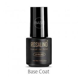 ROSALIND płaszcz podstawowy 7ML wielozadaniowy lakier do paznokci UV i LED Soak off Primer Nails Coat Semi Permanent Manicure la
