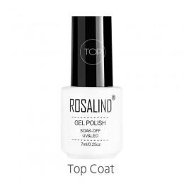 ROSALIND 7ML warstwa wierzchnia żelowy lakier do paznokci potrzebny lampa UV LED Nail artystyczny manicure Soak Off Vernis długo
