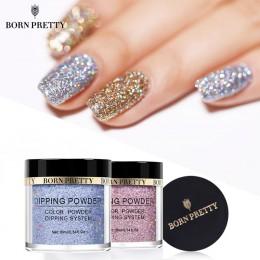 BORN PRETTY Dip proszki do paznokci Gradient zanurzenie Glitter Decoration trwały niż żel UV naturalny suchy bez utwardzania lam