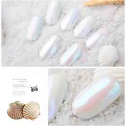 ISHOWTIENDA Pigment perłowy Pigment Pigmento Glitter proszek perłowy Nail Art Glitter dekoracje do zdobienia paznokci Maquiagem