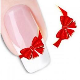 1 arkusze nowy projekt liści paznokci woda Transfer Nail Art dekoracyjne naklejki DIY tatuaże Manicure porady akcesoria do pazno