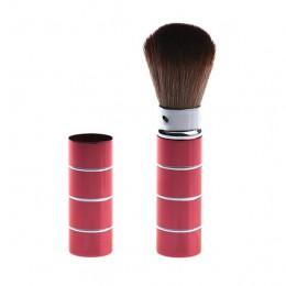 Out top 1 sztuk pędzel do makijażu 9.2cm kosmetyczne Makeup muśnięcie teleskopowe pędzle do makijażu Natural Metal teleskopowa s