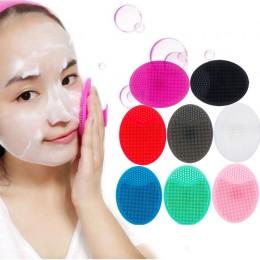 Podkładka do czyszczenia żelu krzemionkowego myjka do twarzy szczotka złuszczająca peeling do skóry narzędzie do mycia silikonu