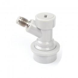 Homebrew Keg na piwo złącze dozownik blokada kulowa Keg odłącz złącza płynne/gazowe 1/4 ''do beczki z blokadą kulową