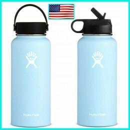 32oz/40oz Hydro Flask butelka wody butelka wody ze stali nierdzewnej izolowane próżniowo szerokie usta podróży przenośna butelka