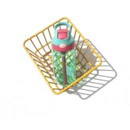 New hot Fashion 480 ml Cute Baby Water Cup szczelna butelka ze słomką pokrywka dzieci szkoła butelki do picia na zewnątrz kubek