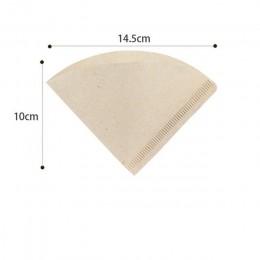 100 sztuk nowy drewniane ręcznie V60 kroplówki papierowy filtr do kawy 102 filtr do kawy torba ekspres do kawy Espresso zaparzac