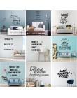 Motywacja Vinyl naklejka ścienna Dream frazy cytaty na pomieszczenie biurowe dekoracja domu Mural dekoracja do pokoju dziecięceg