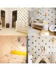 Baby Boy Room trójkąty naklejki ścienne prosty kształt dla dzieci pokój Art dekoracyjna naklejka dla dzieci naklejki ścienne do