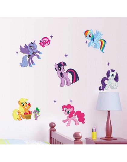 Królowa śniegu Aurora księżniczka naklejki na okna dla dzieci pokój dekoracji wnętrz Cartoon sztuka na ścianę dziewczyny naklejk