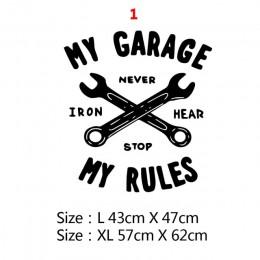 Spersonalizowana naklejka ścienna mojego garażu kreatywna naklejka naklejki garażowe na naprawa samochodów dekoracja ścienna do