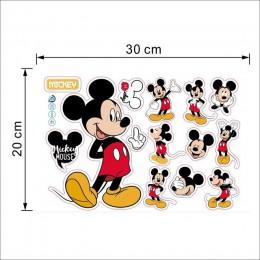 Kreskówka myszka miki myszka Minnie baby home naklejki 3d naklejki ścienne dla dzieci pokój dekoracja ścienna do sypialni przeds
