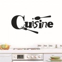 Kuchnia naklejki francuskie naklejki ścienne home decor naklejki ścienne do kuchni dekoracyjna naklejka naklejka plakat na ścian