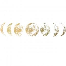 Kreatywny księżyc faza 3D naklejka ścienna Home living dekoracja ścienna dekoracyjne naklejki ścienne tło decor księżyc naklejki